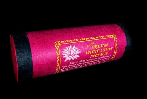 Tibetan White Lotus incense from Mandala Art