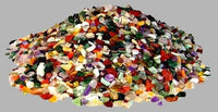 1 Kilogram of Semi-Precious Gemstones - Rainbow Mix