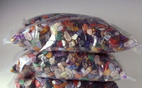 2 Kilograms of Semi-Precious Gemstones - Rainbow Mix