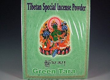Green Tara Incense Powder