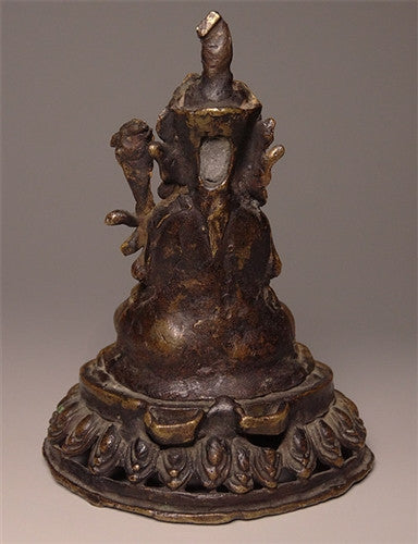Antique Guru Padmasambhava Statue - 18th/19th C