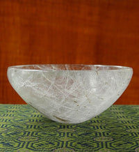 Himalayan Rock Crystal Bowl - 82.5 mm