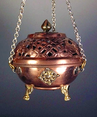Traditional Tibetan Sang Burner - 4.2 inches