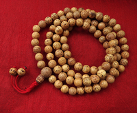 Round Indian Bodhiseed Mala - 11.5 mm