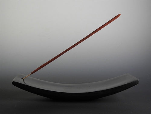Japanese Stone Incense Holder - For Indian & Japanese Incense