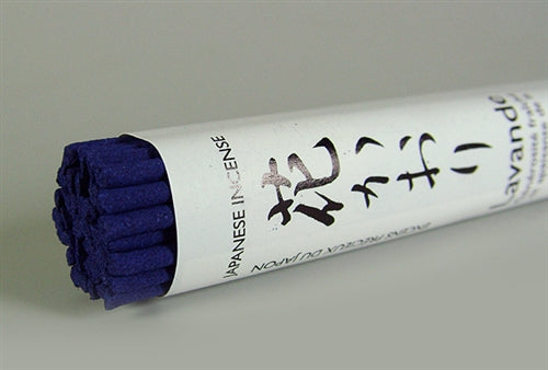 Lavender Japanese Temple Incense