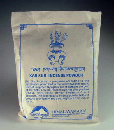 KAR SUR - Traditional Tibetan Incense Powder