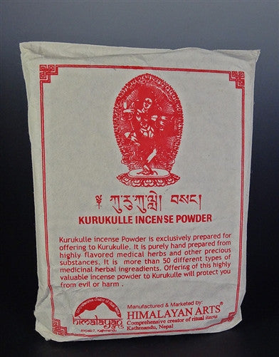Kurukulle - Traditional Tibetan Incense Powder