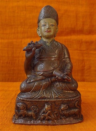 Antique Lama Statue  - 19th C