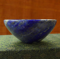 Natural Lapis Lazuli Gemstone Bowl - 75 mm