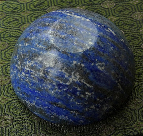 Natural Lapis Lazuli Gemstone Bowl - 81 mm