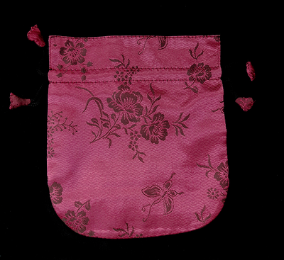 Finest Silk Mala Bag -  Floral Design