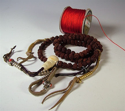 Mala Cord for re-stringing - 10 colours to choose from!