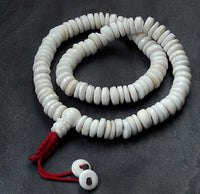 Conch Shell Disc Mala - 13 mm x 5 mm