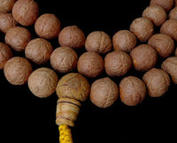 XX Large Natural Nepalese Bodhiseed Mala - 13 to 14 mm