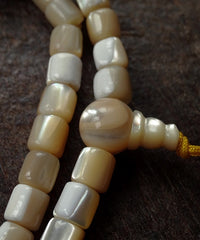 Mother of Pearl Mala- 6mm