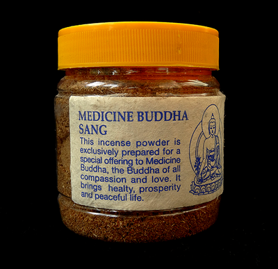 Medicine Buddha Sang - Traditional Tibetan Incense Powder - 100 grams