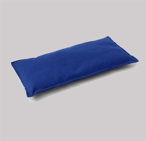 Meditation Bench Cushion - Zen Blue - Fleece Wool