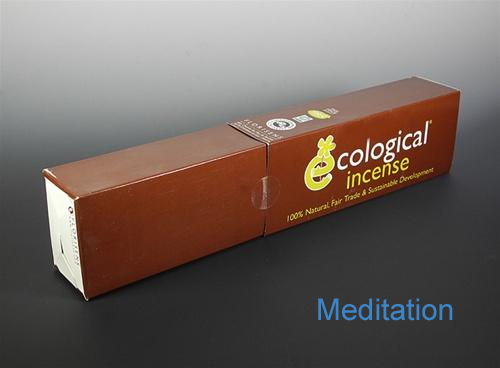 Meditation Ecological Fair Trade Ayurvedic Indian Incense - 100 Sticks