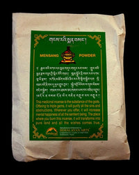 Mensang - Traditional Tibetan Healing Incense Powder