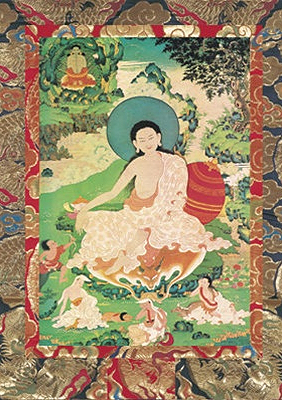 Milarepa Visualisation Card