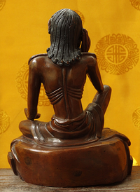 Fine Quality Vintage Milarepa Statue - 6 inches