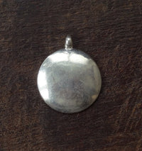 Silver Melong Mirror - Astrological Amulet