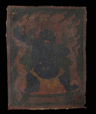 Antique Miniature Painting of Vajrapani