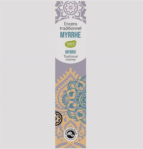 Myrrh Traditional Incense Sticks - Pack of 20