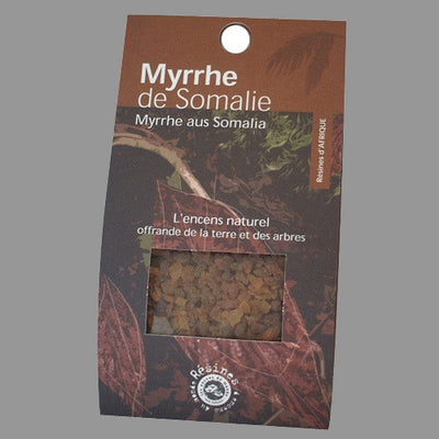 Myrhh Incense Resin from Somalia - 40 grams