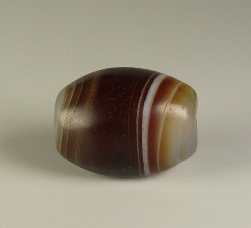 Fine Quality New Banded Agate Bead