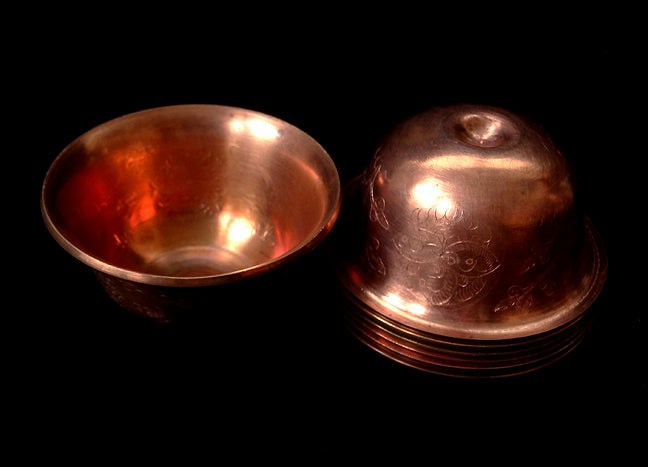 7 Copper Offering Bowls - Standard Size