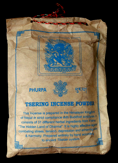 Phurba Sang Powder - Tibetan Incense