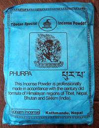Phurpa Sang Powder - Sonam Incense