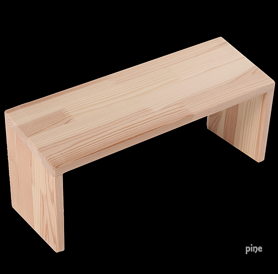 Meditation Bench - Two Options - Beech or Pine
