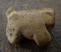 Ancient Pyu Stone Tiger/Dog Bead