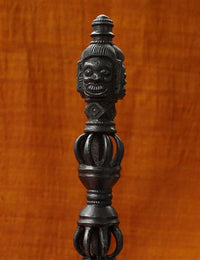 Rare Hand Carved Ritual Iron Phurba - 15th C Replica