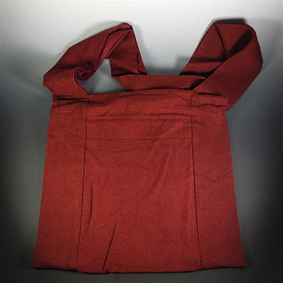 Fine Raw Silk Sangha Bag - Maroon