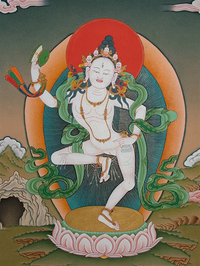 Finest Machik Labdrön Thangka
