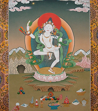 Finest Machik Labdrn Thangka
