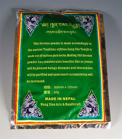 Riwo Sangchod Tibetan Incense Powder
