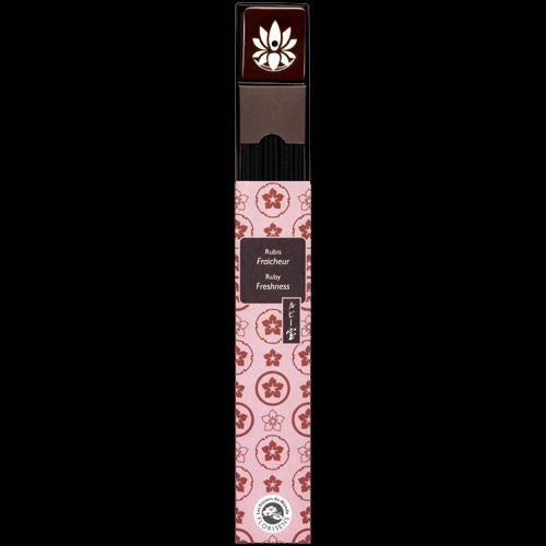 Karin Precious Ruby Japanese Temple Incense - Smokeless