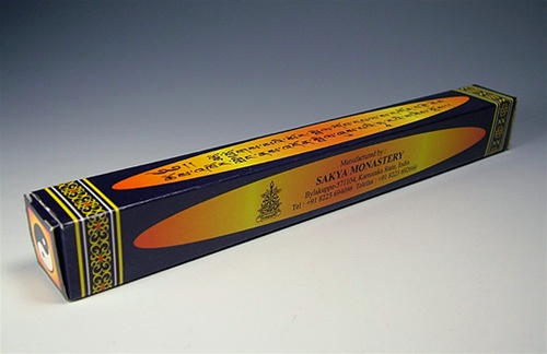 Sakya Monastery Tara  Incense - Natural Tibetan Incense Sticks