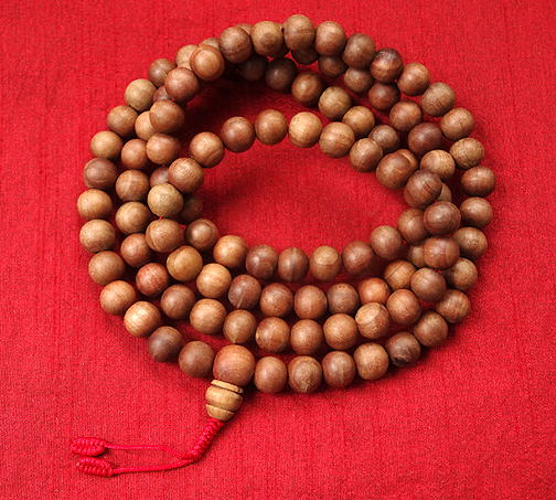Sandalwood Mala - 11 mm