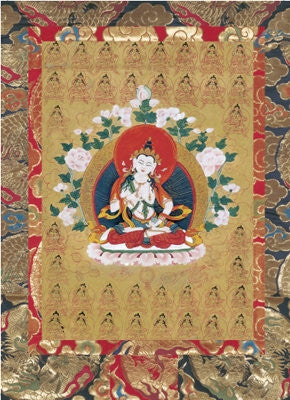 Vajrasattva or Dorje Sempa Visualisation Card
