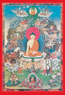 Shakyamuni Buddha ~ Enlightenment of the Buddha - Fine Art Giclee Print
