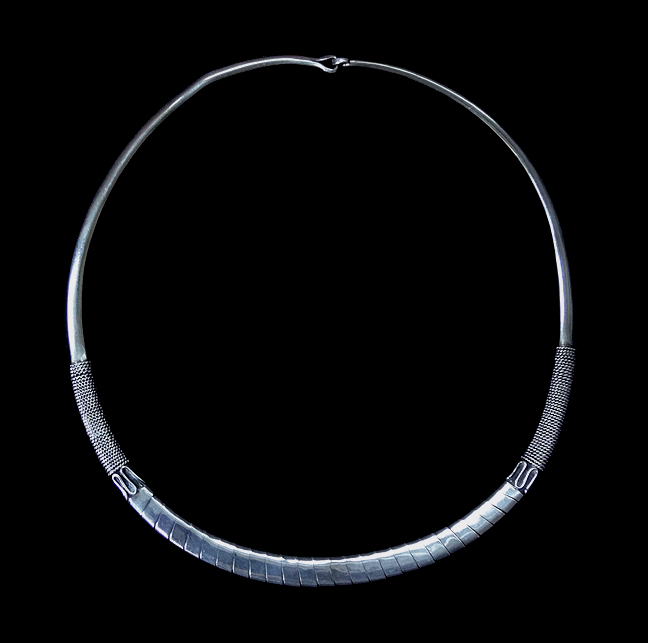 Antique Silver Torc or Torque - South East Asia