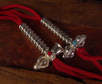 Silver Plated Bell & Vajra Countes