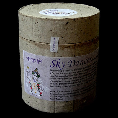Sky Dancer - Singye Dzong Incense - Bhutan Jewel House