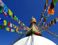 Traditional Tibetan Prayer Flags - Standard Size